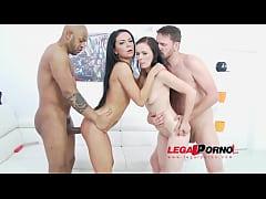 Joanna Black & Inga Devil anal & DP 4some for L...