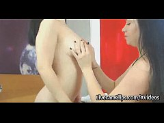 Amateur College Girl Bffs On Webcam Hot Lesbian...