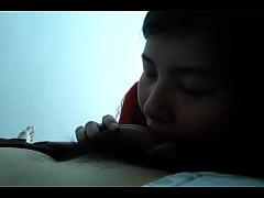 Asian amateur slut blowjob