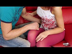 ShootOurSelf - Tall redhead wrecked by her boyf...