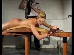 flogging girl hard