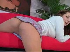 Erica-Campbell-Pantyhose-Tease
