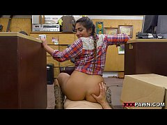 Texas Cowgirl Rides With a Dick in Her Ass (xp15823)
