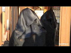 Catholic nuns and the monster! Crazy monster an...