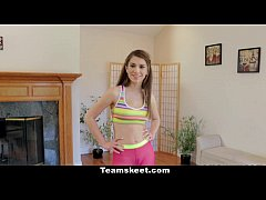 CFNMTEENS - Hot Yoga Slut Takes Advantage