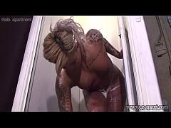 Spying Japanese Girls in Shower Room