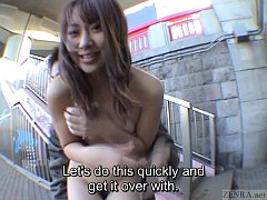 Subtitled classic Japanese public nudity advent...