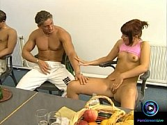 Kathy Heart and Baby Face group sex anal