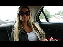 Alana Luv Trailer Running into Alana Luv stunni...