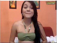 Bella joven  paisa webcam