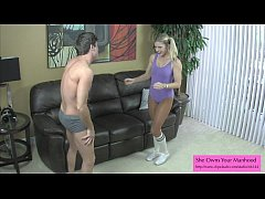 Crazy Sexy Ballbusting Roommate Part 1