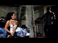 Glamour maid fucked in stockings and high heels