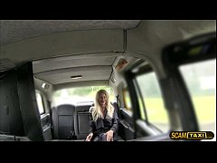 Great tits blonde hot chick sucks drivers big h...