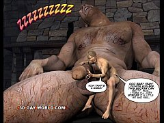 JACK AND THE BEANSTALK Gay Comic Version by 3D ...