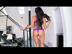 Breanne Benson in Purple
