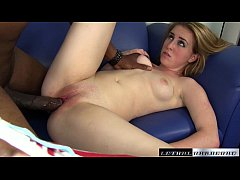 Jessie gets taught an interracial lesson for sk...