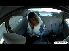 Hot Angelina gets fucked outside of the car and...