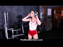 TheRealWorkout - Slutty Teen Fucked At The Gym