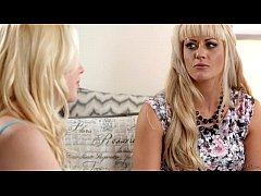 Busty Blonde Step-Mother Holly Heart and Samant...