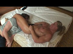 Amazone Nicky aka Katrin Kirsch - wrestling