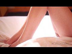 Beautiful vietnam girl is masturbating in the bed