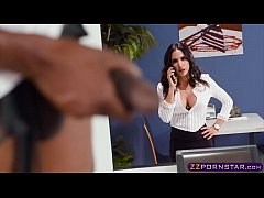 Office chick gets fucked doggystyle by the lunc...