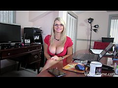 Big Titted MILF Vicky Vette Gets Tits Glazed In...