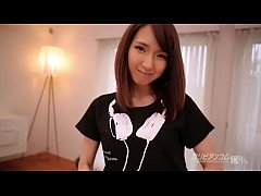 Pretty Japanese girl Anna Rika gives deepest th...