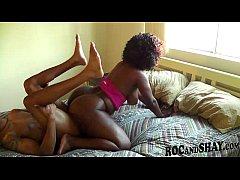 AMATEUR BLACK GIRL RIDES BIG DICK !!