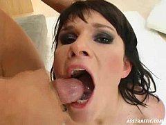 Holly Swallows Cum!