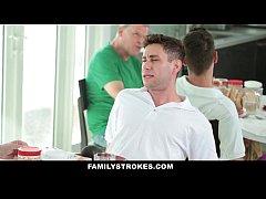 FamilyStrokes - MILF Step Mom Fucks Son