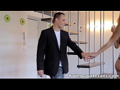 Young Courtesans - Perky teen tube8 tries sex r...