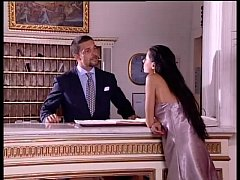 Hot chick fucked in the ass in a luxury house