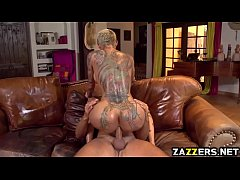 Bella Bellz anal gets fucked doggystyle by Keir...