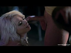Sparkle Job For Erotic Blonde MILF