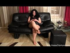 Alisa smoking foot fetish video