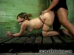 Teen Slave Gets Dominated!