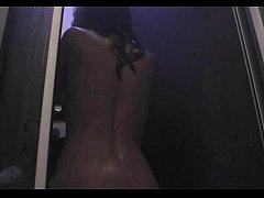 Dirty webcam girl HOT NY BEAUTY taking a hot shower alone