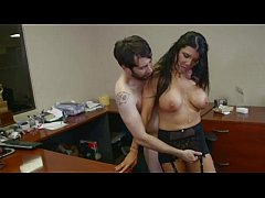Romi Rain - hardcore sex in Office