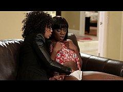 Ana Foxxx and Misty Stone Lesbian Fun