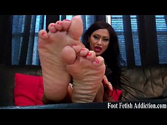If you beg I might let you worship my feet