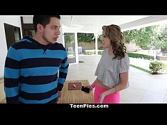 TeenPies - Summer Lace Gets Her Twat Creamed!