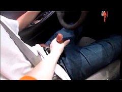 Wife Give Husband Handjob While Driving Making ...