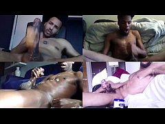 BLACK MEN CUM COMPILATION