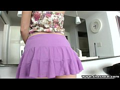 ShesNew Blonde with round ass had quickie with ...