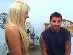Hot wife Candy Manson fucked while her husband watches