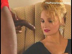 80's Blonde Loves Her Dark Log