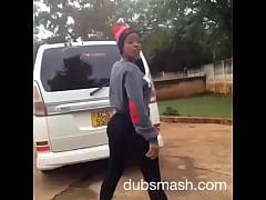 zimbabwean teen twerking