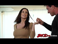 ZTOD Kendra Lust takes her big tits out for fucking