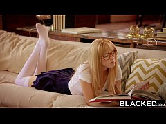 BLACKED First Interracial For Rich Girl Riley N...